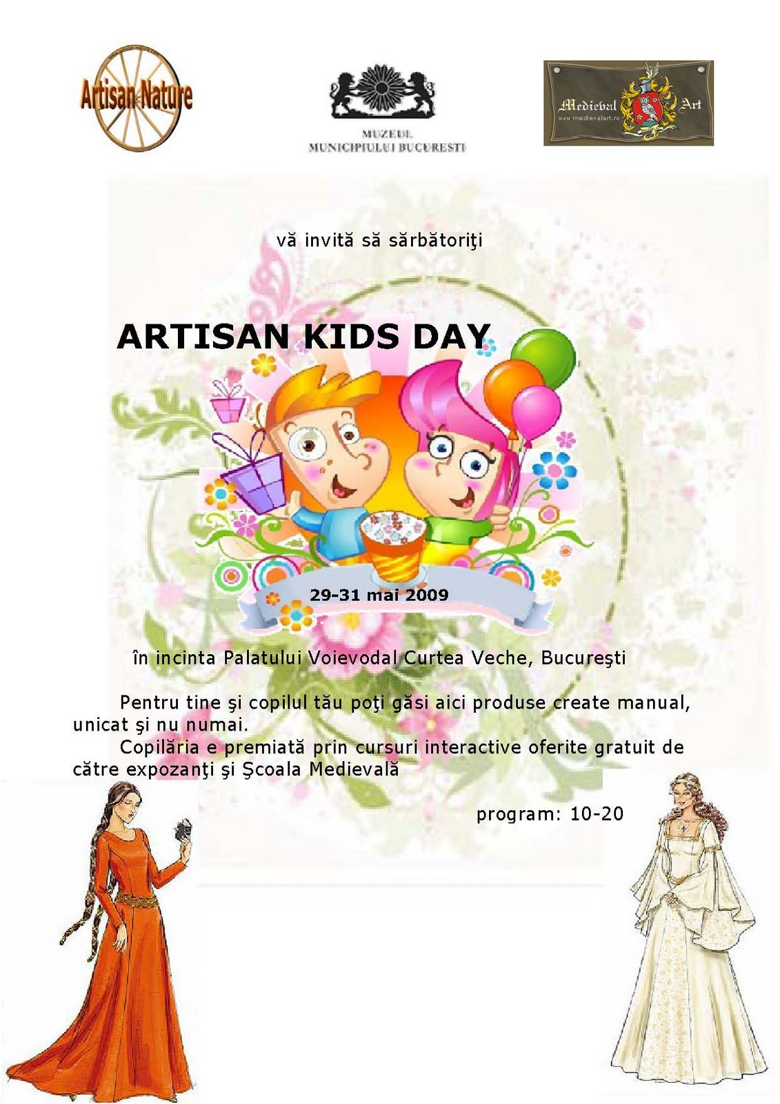 Afis - ARTISAN Kids Day - A4 - Gradinite 06